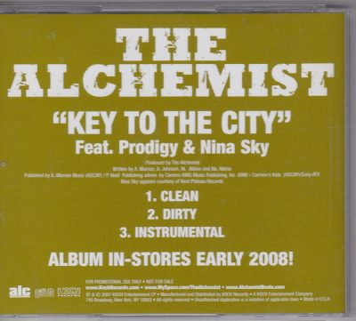 Alchemist – Key To The City (Promo CDS) (2007) (FLAC + 320 kbps)