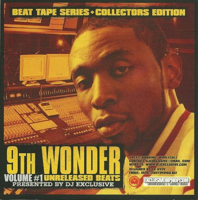 9th Wonder – Unreleased Beats Volume 1 (CD) (2005) (FLAC + 320 kbps)