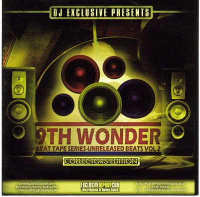 9th Wonder – Unreleased Beats Volume 2 (CD) (2005) (FLAC + 320 kbps)