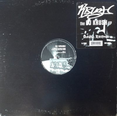 DJ Krush – The DJ Krush EP (Vinyl) (1995) (FLAC + 320 kbps)