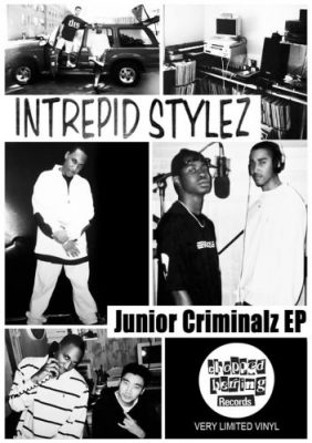 Intrepid Stylez – Junior Criminalz EP (Vinyl) (2018) (FLAC + 320 kbps)