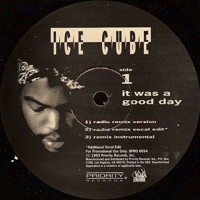 Ice Cube – It Was A Good Day (Promo VLS) (1993) (FLAC + 320 kbps)