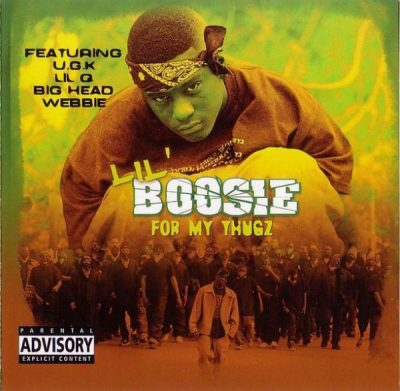 Lil' Boosie – For My Thugz (CD) (2003) (FLAC + 320 kbps)
