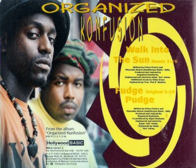 Organized Konfusion – Walk Into The Sun (Remix) / Fudge Pudge (Promo CDS) (1991) (320 kbps)