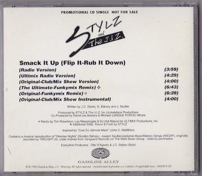 Stylz & The J.I.Z. – Smack It Up (Flip It-Rub It Down) (CDS) (1994) (320 kbps)