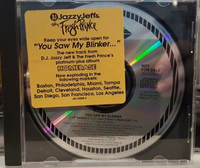 DJ Jazzy Jeff & The Fresh Prince – You Saw My Blinker (Promo CDS) (1992) (320 kbps)