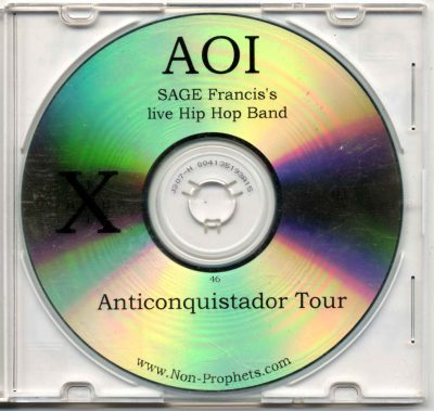 AOI – Anticonquistador Tour (CD) (2001) (FLAC + 320 kbps)