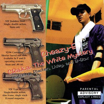 Cheazy-E – CRa.k.a. The White Mystery (CD) (1998) (FLAC + 320 kbps)