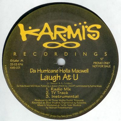 Da Hurricane Holla Macwell – Laugh At U (VLS) (1999) (FLAC + 320 kbps)