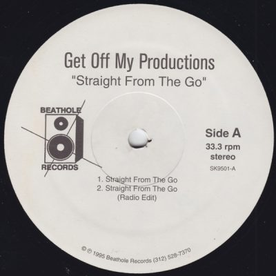 Get Off My Productions / The Figure – Straight From The Go / Dream Come True (VLS) (1995) (FLAC + 320 kbps)