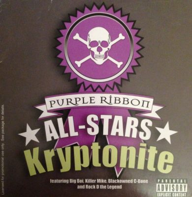 Purple Ribbon All-Stars – Kryptonite (I'm On It) (CDS) (2005) (FLAC + 320 kbps)