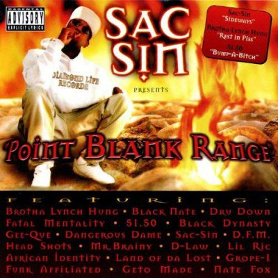 VA – Sac Sin Presents: Point Blank Range (CD) (1997) (320 kbps)