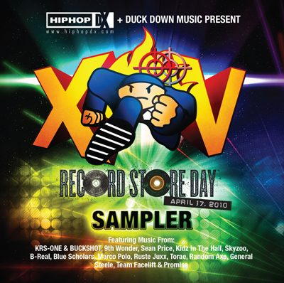 VA – HipHopDX + Duck Down Music Present Record Store Day Sampler (CD) (2010) (FLAC + 320 kbps)