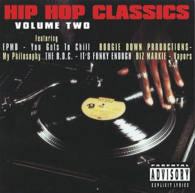 VA – Hip Hop Classics Volume Two (CD) (1996) (FLAC + 320 kbps)