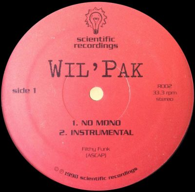Wil' Pak – No Mono / Friction (VLS) (1998) (FLAC + 320 kbps)