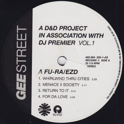 Afu-Ra & EZD – A D&D Project In Association With DJ Premier Vol. 1 EP (Vinyl) (2000) (FLAC + 320 kbps)
