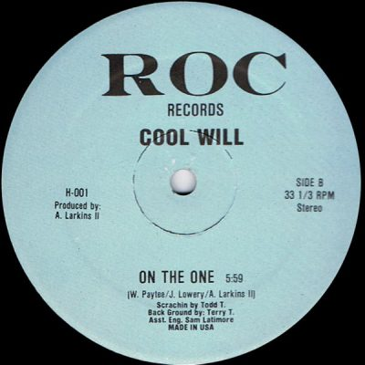 Cool Will – On The One (VLS) (1986) (FLAC + 320 kbps)
