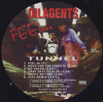 Dilagents – Feel.. (Vinyl) (1997) (FLAC + 320 kbps)