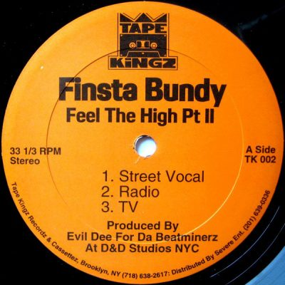 Finsta Bundy – Feel The High Pt. II (VLS) (1997) (FLAC + 320 kbps)