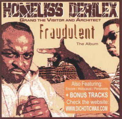 Homeliss Derilex – Fraudulent: The Album (WEB) (1994) (FLAC + 320 kbps)