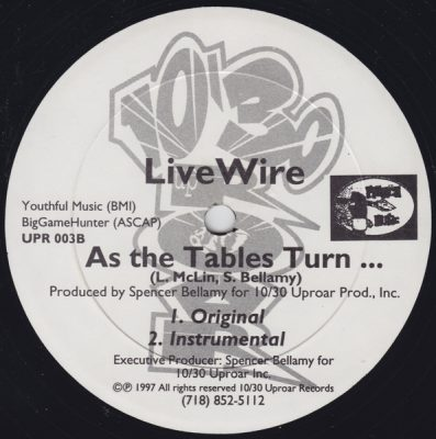Live Wire – As The Tables Turn… / Fast Lane (VLS) (1997) (FLAC + 320 kbps)