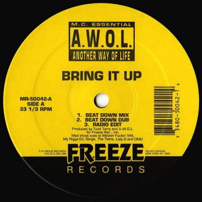 M.C. Essential – Bring It Up (VLS) (1993) (VBR V0)