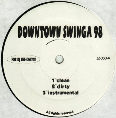 M.O.P. – Downtown Swinga '98 / Breakin' The Rules (VLS) (1998) (FLAC + 320 kbps)