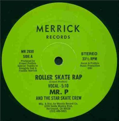 Mr. P And The Star Skate Crew – Roller Skate Rap (VLS) (1985) (FLAC + 320 kbps)