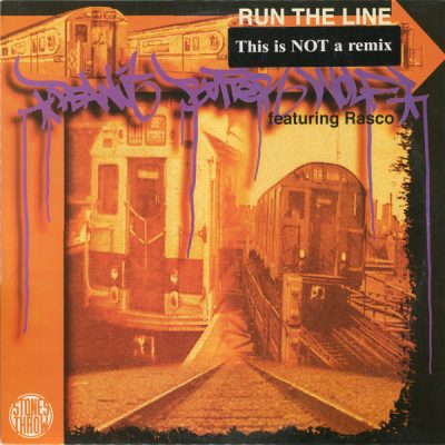 Peanut Butter Wolf – Run The Line / The Undercover (Clear & Present Danger) (VLS) (1997) (320 kbps)