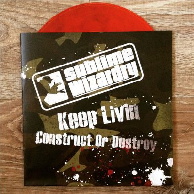 Sublime Wizardry – Keep Livin / Construct Or Destroy (VLS) (2014) (FLAC + 320 kbps)