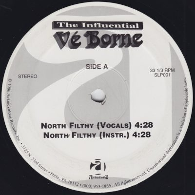 The Influental Ve Borne – North Filthy / M.I.L.K. (VLS) (1996) (FLAC + 320 kbps)