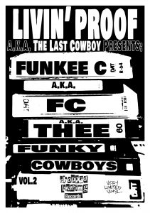 Livin' Proof – Thee Funky Cowboys Vol. 2 EP (Vinyl) (2018) (FLAC + 320 kbps)