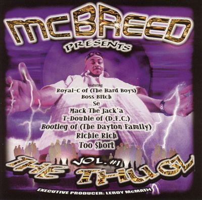 MC Breed Presents – The Thugz Vol. 1 (Vinyl) (1999) (FLAC + 320 kbps)