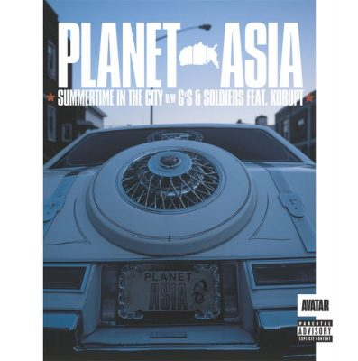 Planet Asia – Summertime In The City (CDS) (2003) (320 kbps)