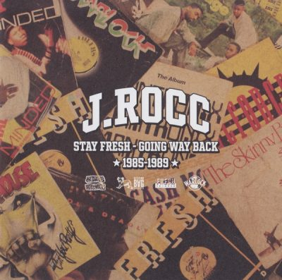 J.Rocc – Stay Fresh – Going Way Back: 1985-1989 (CD) (2018) (FLAC + 320 kbps)