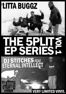 Litta Buggz / DJ Stitches Featuring Eternal Intellect – The 5PLIT EP Series Vol. 1 (Vinyl) (2014) (FLAC + 320 kbps)