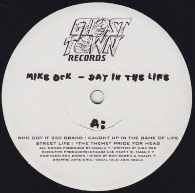 Mike Ock – Day In The Life EP (Vinyl) (1997) (FLAC + 320 kbps)