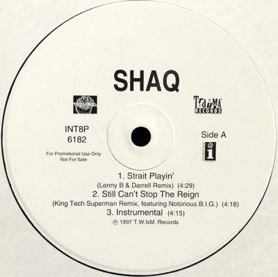 Shaquille O'Neal – Strait Playin' (Promo VLS) (1997) (FLAC + 320 kbps)