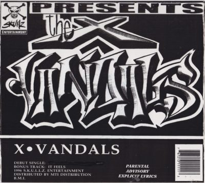 The X Vandals – 2 All My People / It Feels (VLS) (1996) (FLAC + 320 kbps)