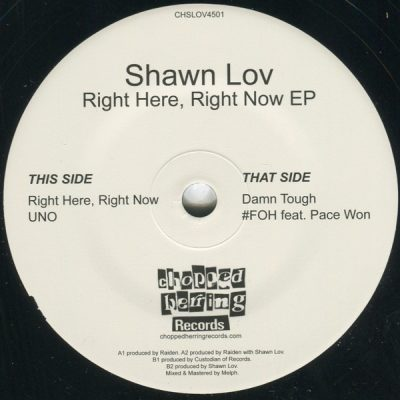 Shawn Lov - Right Here, Right Now EP (Vinyl) (2017) (FLAC + 320 kbps)