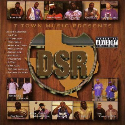 Dirty South Rydaz – DSR The Album (CD) (2000) (FLAC + 320 kbps)