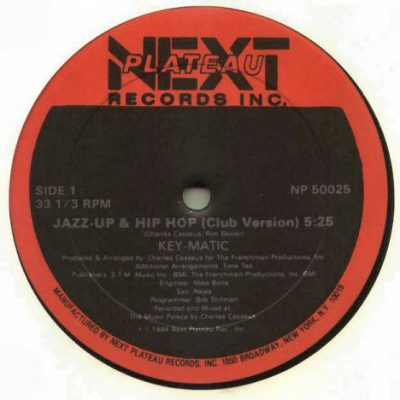 Key-Matic – Jazz-Up & Hip Hop (VLS) (1984) (FLAC + 320 kbps)