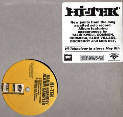 Hi-Tek – Radio Friendly Album Sampler (Vinyl) (2001) (FLAC + 320 kbps)