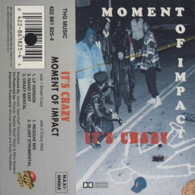 Moment Of Impact – It's Crazy (Cassette) (1993) (FLAC + 320 kbps)