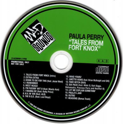 Paula Perry – Tales From Fort Knox (CD) (1998) (320 kbps)