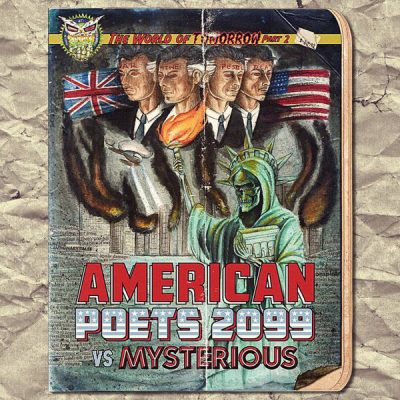 American Poets 2099 vs. Mysterious – The World Of Tomorrow, Pt. 2 (WEB) (2014) (320 kbps)