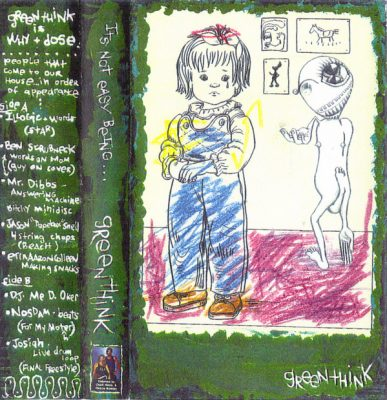 Greenthink – It's Not Easy Being… (Cassette) (1999) (FLAC + 320 kbps)
