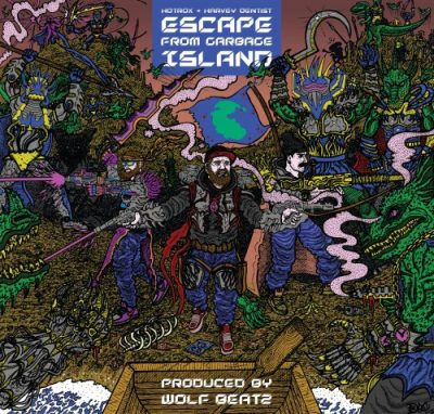 Hotrox & Harvey Dentist – Escape From Garbage Island (WEB) (2019) (320 kbps)