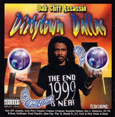 Oak Cliff Assassin Presents – Dirtytown Dallas (CD) (1997) (320 kbps)