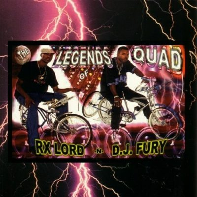 RX Lord & DJ Fury – The Legends Of Quad (CD) (1997) (FLAC + 320 kbps)